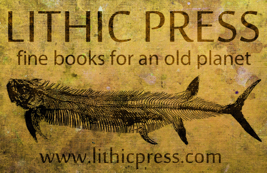 Lithic Press Fossil Poster